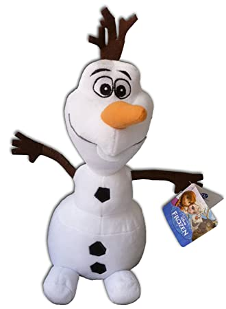 Olaf 50cm Muñeco de Nieve Peluche Gigante Pelicula Frozen Amigo Elsa Ana Alta Calidad Blanco Walt