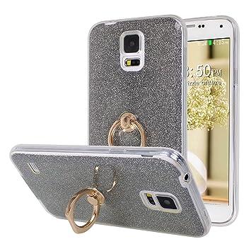 Galaxy S5 Funda con Anillo, Galaxy S5 Neo Carcasa, Moon mood ...
