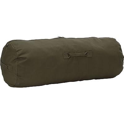 Army Universe Olive Drab Jumbo Side Zipper Canvas Duffle Bag (25