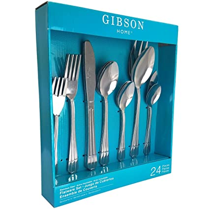 Gibson Avenham 24 Piece Flatware Set