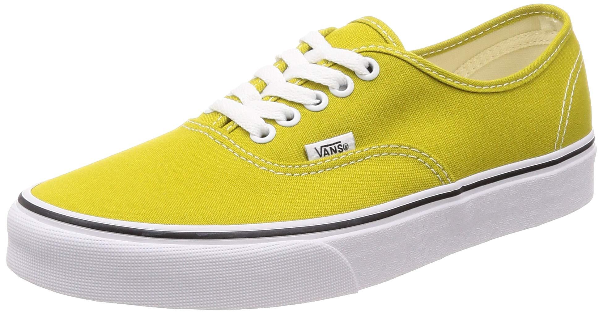 52da363e091 Galleon - Vans Authentic Youth 5.5 Womens 7 Cress Green True White Skate  Shoes