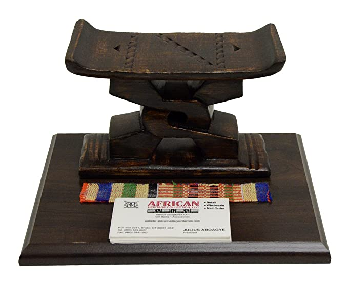 Fantastic Amazon Com Ashanti Stool Desk Caddy Handmade In Ghana Creativecarmelina Interior Chair Design Creativecarmelinacom