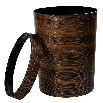 amazon com trash can lingxuinfo retro style pressing ring plastic