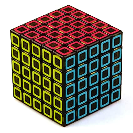 Adeeing 5x5 Multicolors Magic Cube Educational Toys for Kids Adults