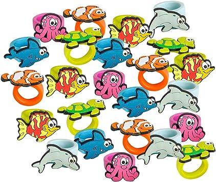 Cute Kids Sealife Design Mood Ring