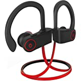 noot products NP11 Wireless Bluetooth in-Ear Headphones with Mic, Volume & Remote Control IPX7 Sweatproof Earbuds for Sports, Running, Gym