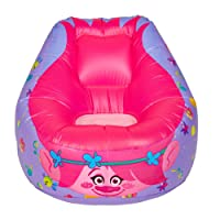 Trolls Inflatable Chill Chair, Plastic, Pink