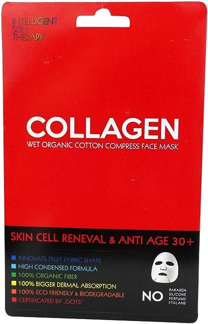 INTELLIGENT SKIN THERAPY - Mascarilla Algodón Orgánico - Collagen ...