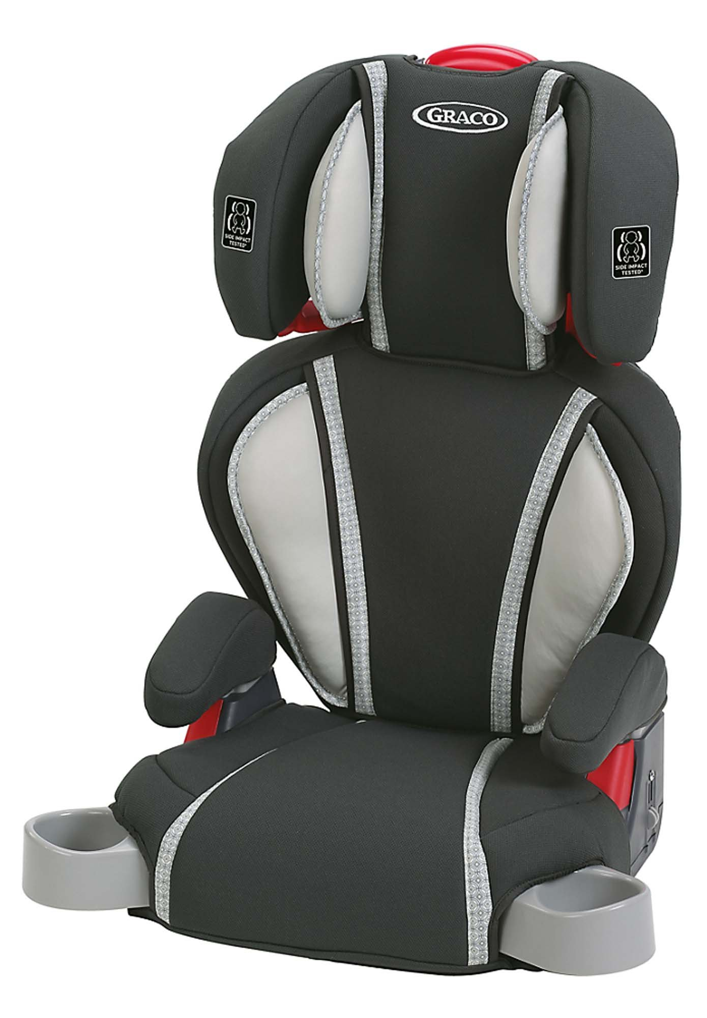 graco backless turbobooster car seat galaxy one size child safety booster car. Black Bedroom Furniture Sets. Home Design Ideas