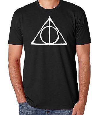 45c6bebe Amazon.com: Ilion Clothing Co Harry Potter Men's Deathly Hallows T-Shirt:  Clothing