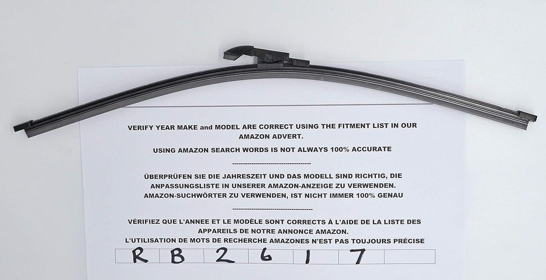 Exact Fit - Limpiaparabrisas trasero RB2617, 40 cm: Amazon.es: Coche y moto