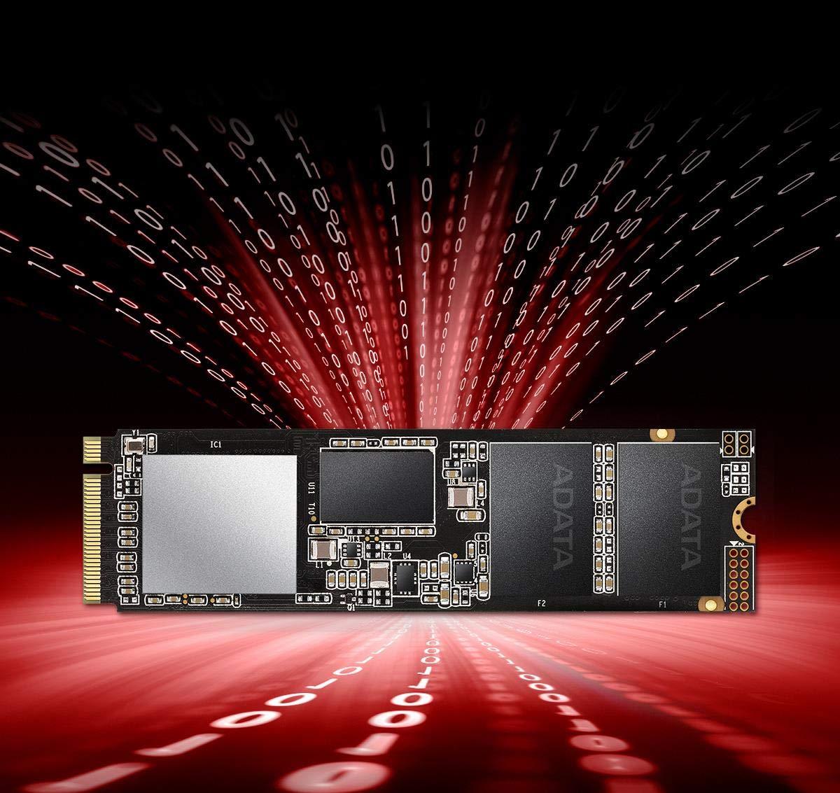 ADATA XPG SX8200 Pro 1TB 3D NAND NVMe Gen3x4 PCIe M.2 2280 Solid State Drive R/W 3500/3000MB/s SSD (ASX8200PNP-1TT-C) by XPG (Image #5)