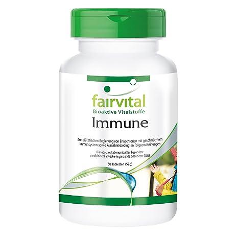 fairvital - Immune - 60 comprimidos con minerales, vitaminas y extractos vegetales