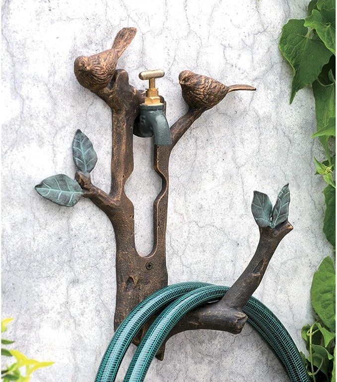 SPI casa 33107 ave y rama manguera soporte: Amazon.es: Jardín