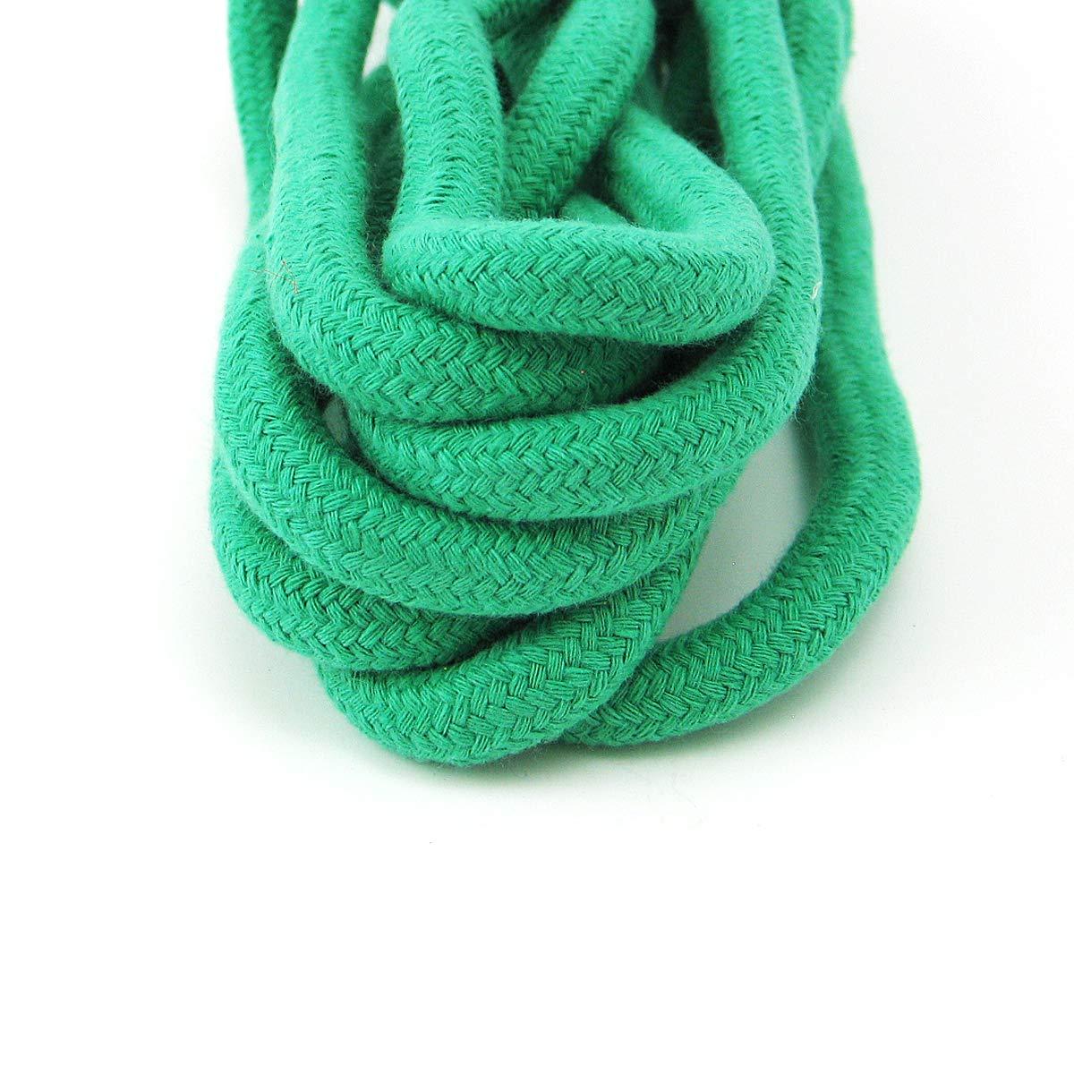3 m/ètres Grouptap Corde /à Sauter en Coton Doux de Couleur Gymnastique Rythmique 3M pour Enfants et entra/înement de Gymnastique