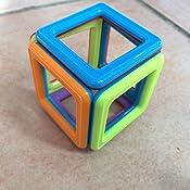 innoo tech bloc de construction magn tique mini jeux construction aimant 76 pi ces jouet et. Black Bedroom Furniture Sets. Home Design Ideas