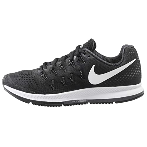 Nike Air Zoom Pegasus 33 Black Cool Grey Wolf Grey White Women s Running 40fe7ba3d