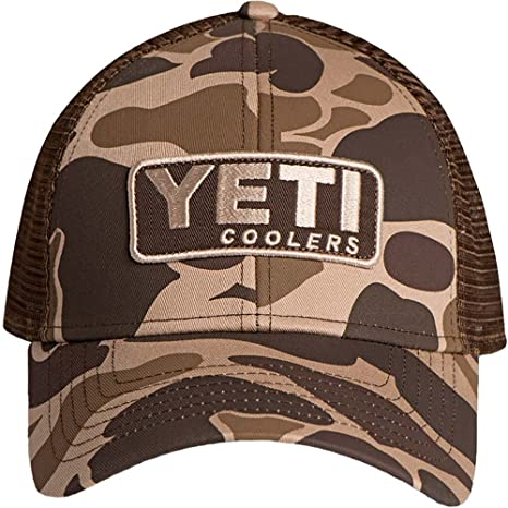 60a71f4eb83 Amazon.com: YETI Custom Camo Hat with Patch: Sports & Outdoors