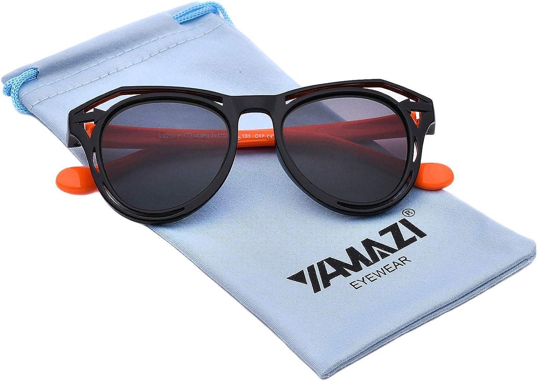 YAMAZI Kids Polarized Sunglasses Sports Fashion For Boys Girls Toddler Baby And Children