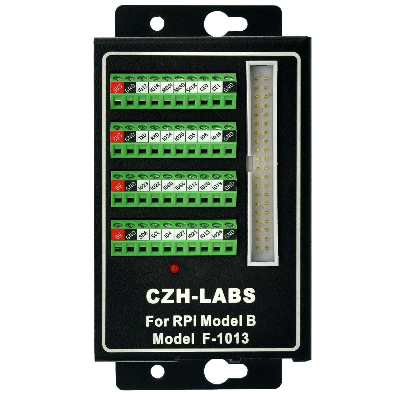 CZH-LABS Screw Terminal Block Breakout Board Module for BeagleBone Black.