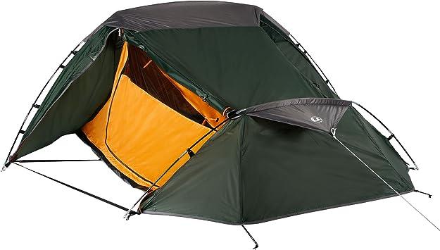Ultrasport Tienda de campaña Adecuada para Festivales, Camping y Trekking, se Entrega con Bolsa de Transporte, protección UV y mosquiteros, Columna de Agua hasta 1000 mm, 2,33x1,88x1,00 m: Amazon.es: Deportes y aire