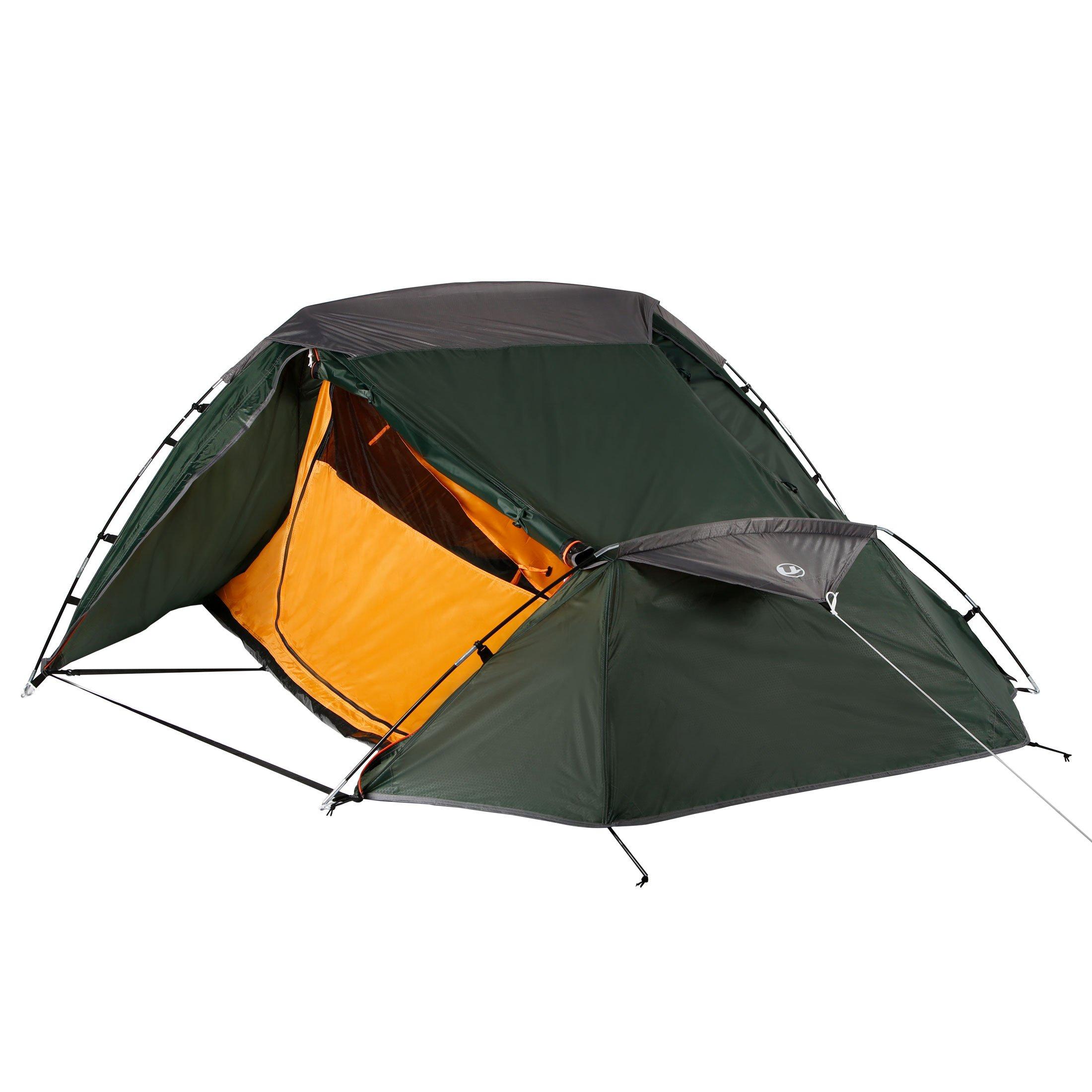 Ultrasport Trekking tienda, color verde/naranja, tamaño 2 personas product image