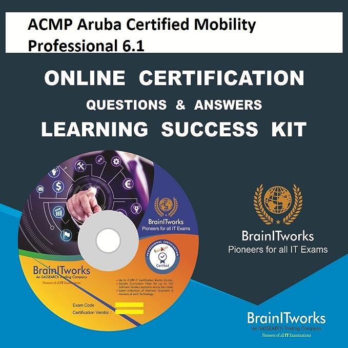 ACMP Aruba Certified Mobility Professional 6.1 Online Certification ...