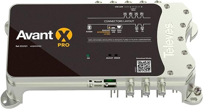 Central Programable Avant X Pro con Entrada FM Y 4 UHF con ...