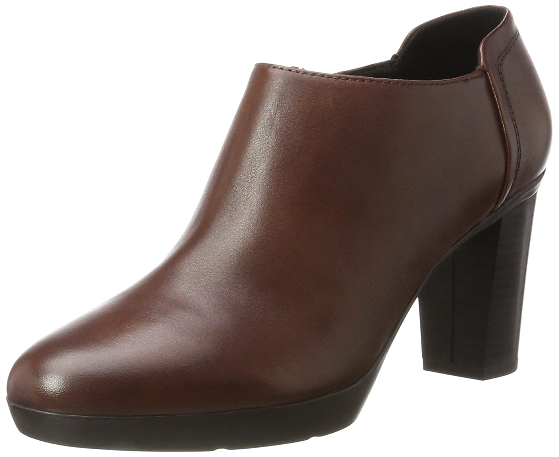 Geox D Inspiration Plateau C, Zapatos de Tacón para Mujer