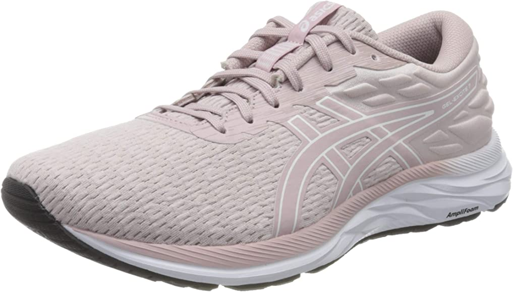 ASICS Gel-Excite 7 Twist, Zapatillas Deportivas para Mujer, Watershed Rose/White, 36 EU: Amazon.es: Zapatos y complementos