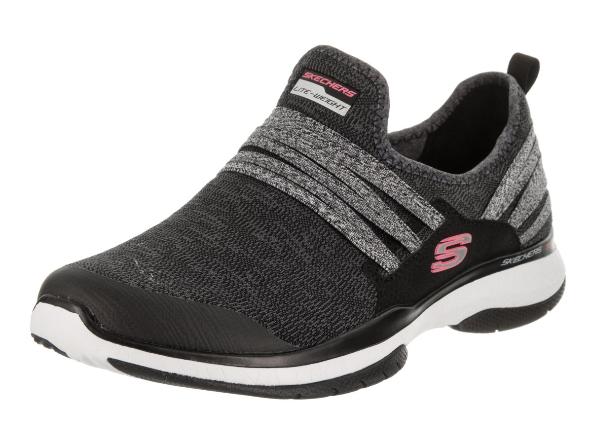 Inside On Burst Out Sneakers Tr Black Skechers Galleon Slip Womens hCQdBtsrx