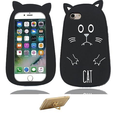 iPhone 7 Carcasa, iPhone 7 Case +Soporte de Anillo, Patrón ...