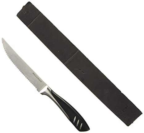 Bellemain Premium - Juego de 4 cuchillos para carne (acero ...