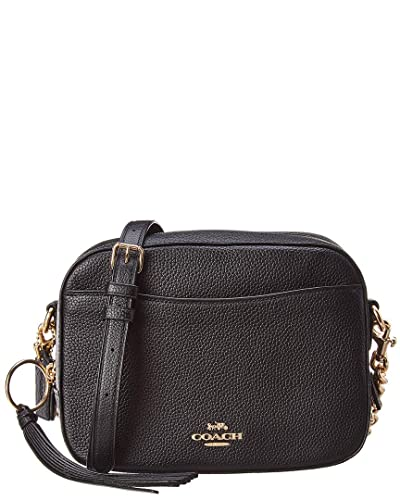 cd10a95ac5ed Coach Camera Black Pebbled Leather Cross-Body Bag  Amazon.co.uk  Shoes    Bags