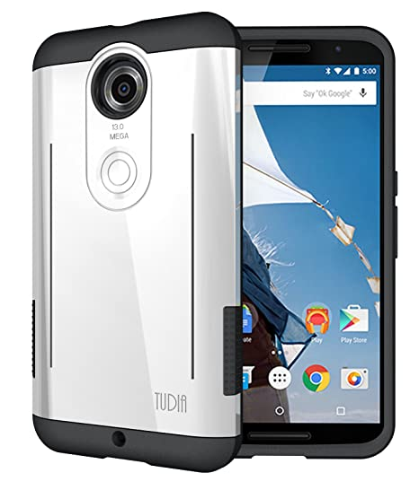 TUDIA Google Nexus 6 Funda, RYFT Duro Resistente de Doble Capa ...