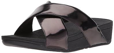 5db9313af856 Amazon.com  FitFlop Women s Swoop Slide Sandals  Shoes