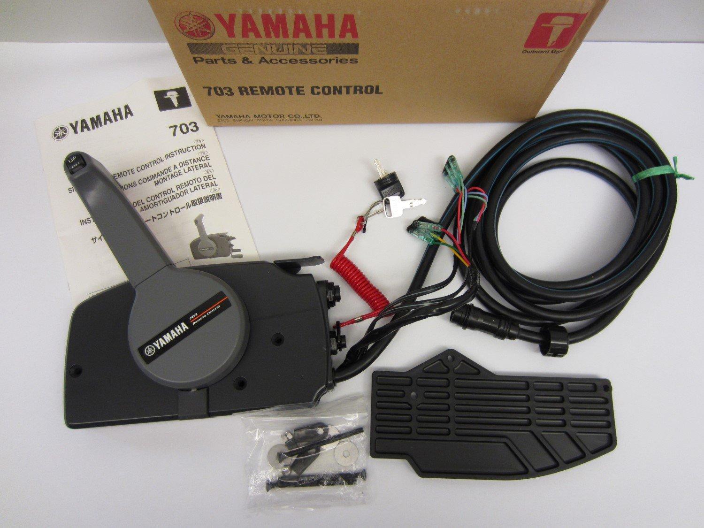 Yamaha New OEM Side Mount Remote Control Throttle/Shift Box 703-48207-21-00