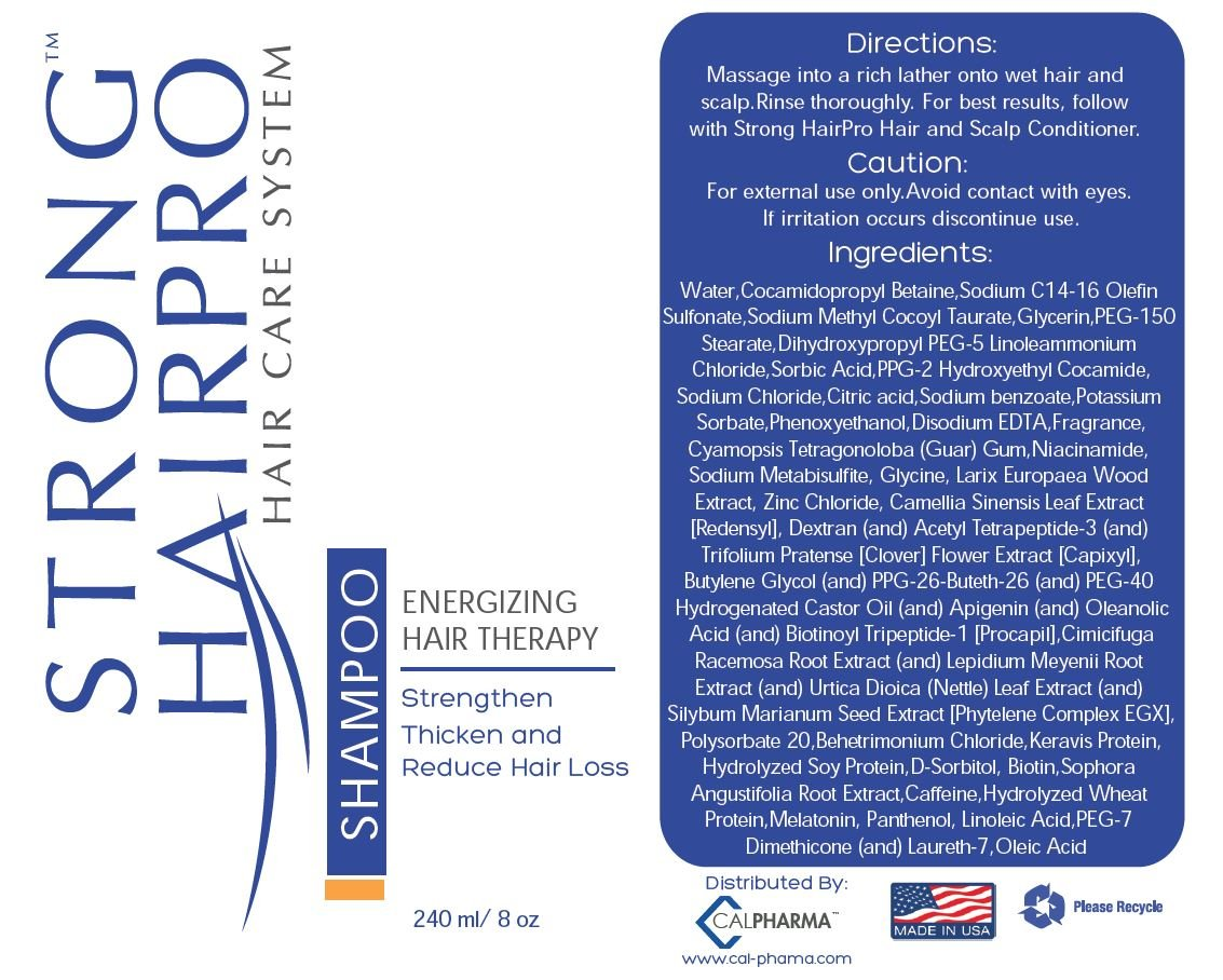 Strong HairPro New Hair Strengthening and Growth Stimulating Peptide Shampoo for Hair Loss Prevention with Caffeine, 8 Fluid Ounce by Strong HairPro (Image #7)