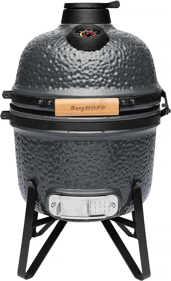 BergHOFF Ceramic BBQ and Oven Bluestone Grey Small