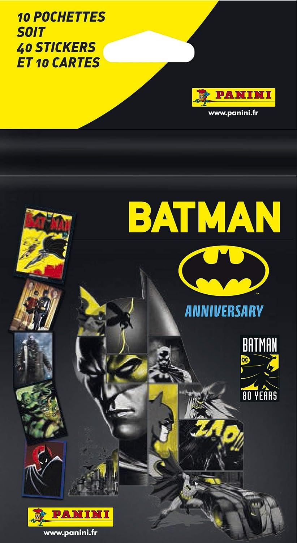 Panini France SA-Blister 10 H/üllen Batman 80 2608-038