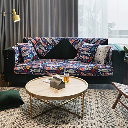 Slipcover 1/2/3/4 Plazas Funda Cubre Sofá Couch Cover ...