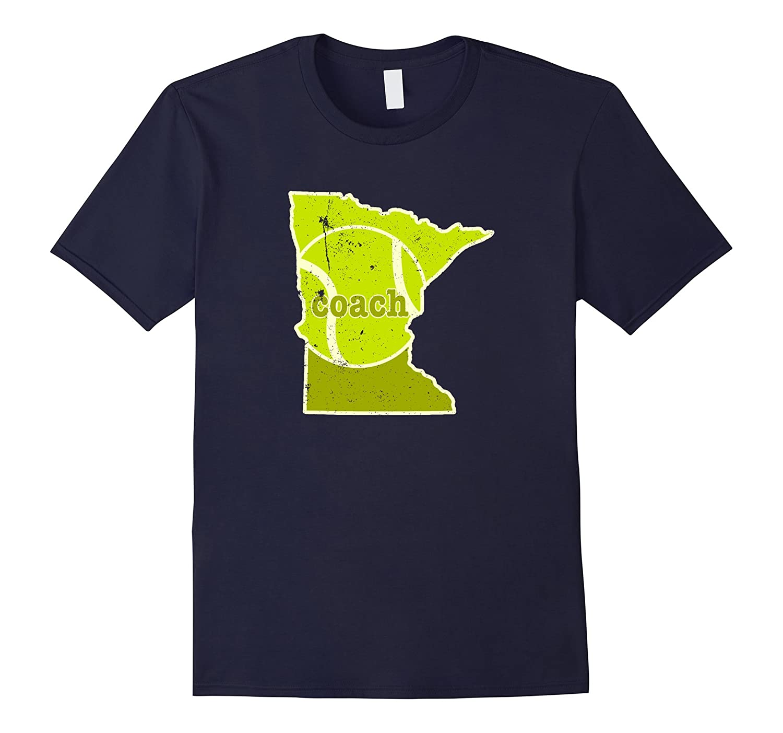 Tennis Coach Minnesota Tennis T Shirt-Vaci