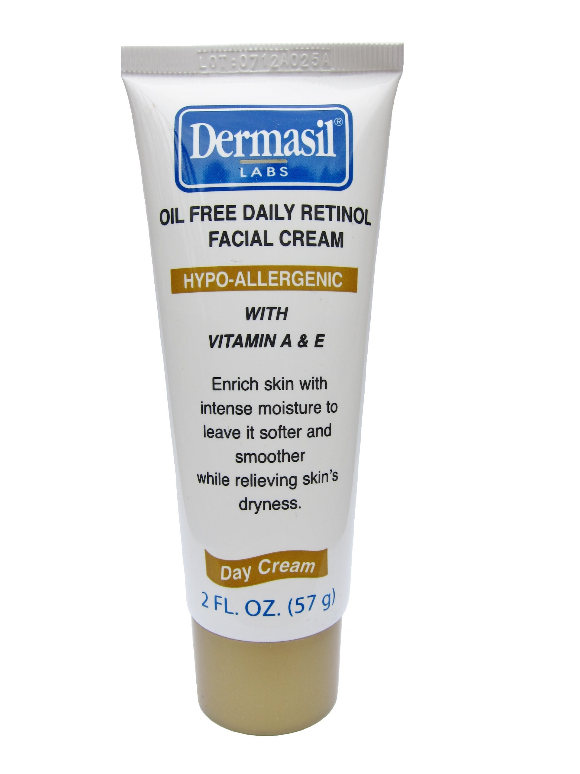 Dermasil Labs Oil Free Daily Retinol Facial Cream 2 Fluid Ounces