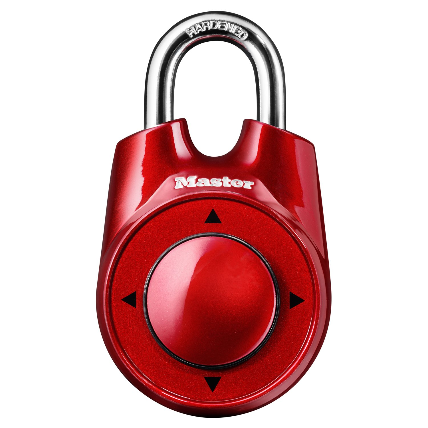 Master Lock 1500iD Set Your Own Directional Combination Padlock, 2-1/8 in. Wide with 1 in. Shackle, Assorted Colors