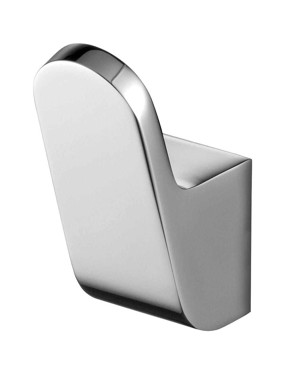 Bisk 02992 Futura - Percha (2,5 x 4 x 6 cm), color plateado 05544CH_chrom
