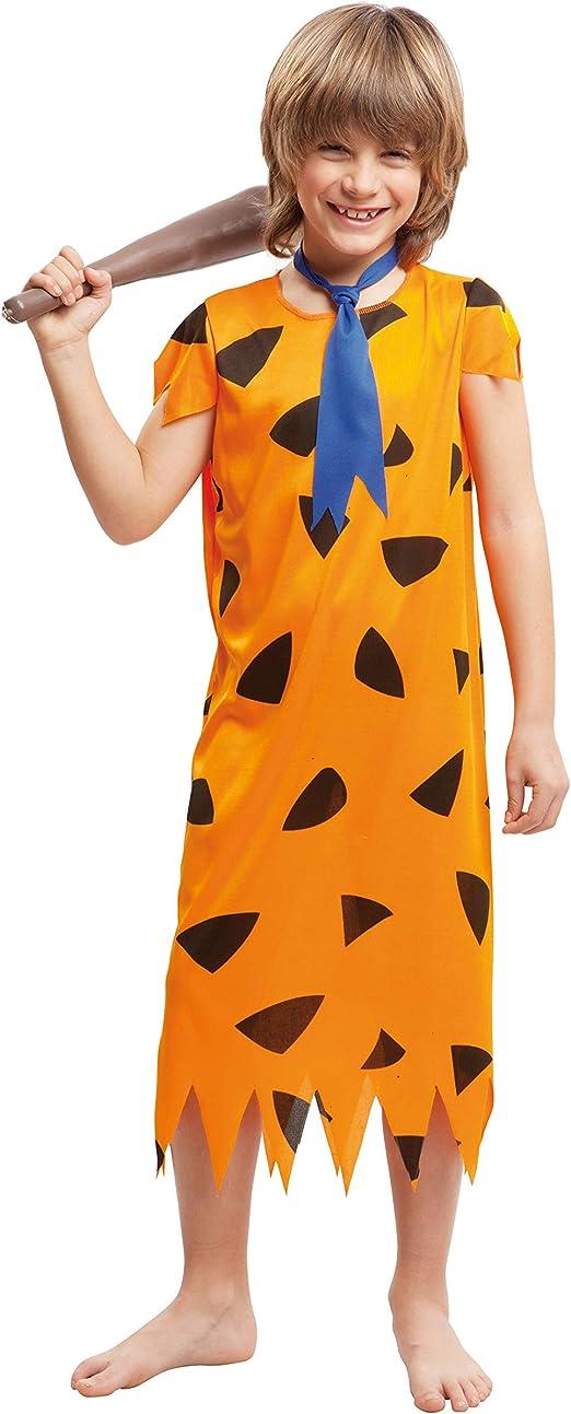 My Other Me Me-203254 Disfraz troglodita para niño, color naranja ...