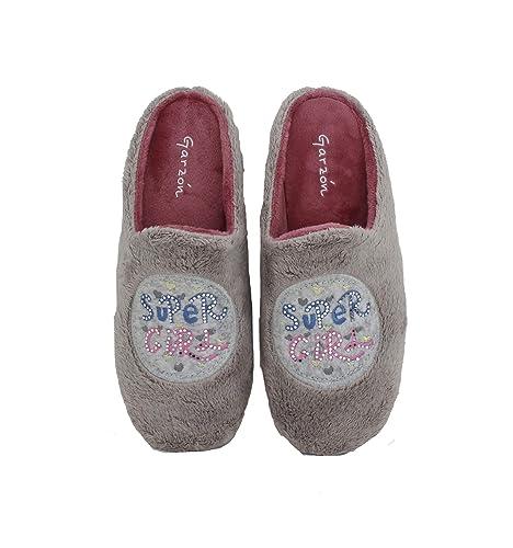 Garzón - Zapatilla de casa niña Super Girl: Amazon.es: Zapatos y complementos