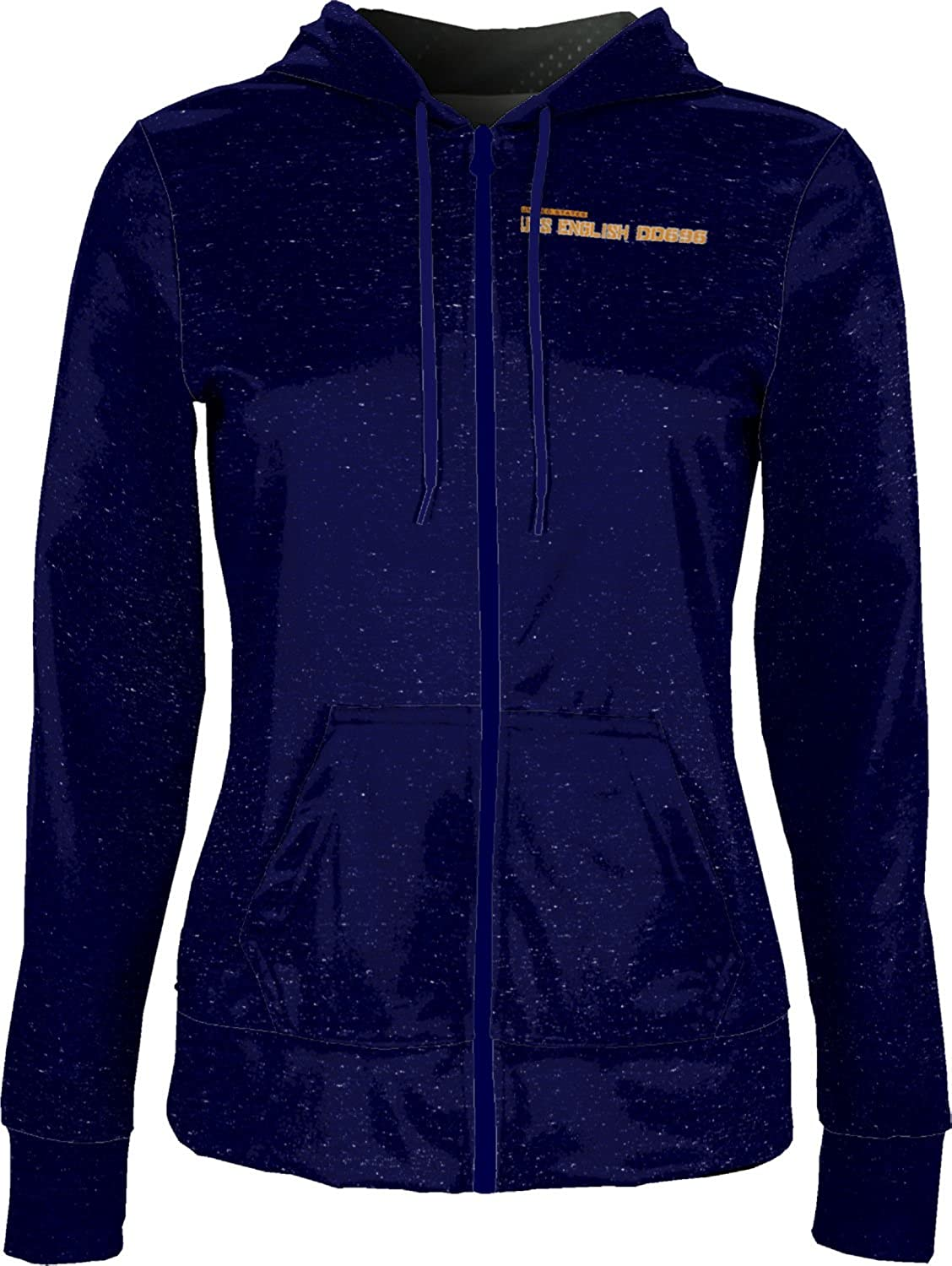 ProSphere Women's USS English DD696 Military Heather Fullzip Hoodie