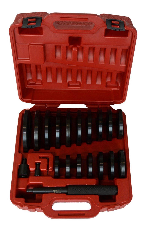 T & E Tools JUMBO Bushing/Bearing/Seal Driver - 19-Pc. Set, Model# TE9013
