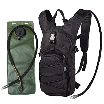 G4Free 3 Litros Paquete de hidratacion/ Mochila Bolsa Correr / ciclo con el agua de la vejiga / bolsillos: Amazon.es: Equipaje